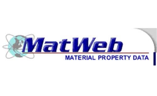 mat web material data logo