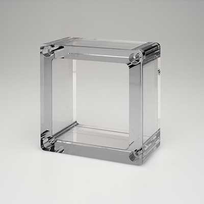 polycarbonate polishing example - plastic polishing services
